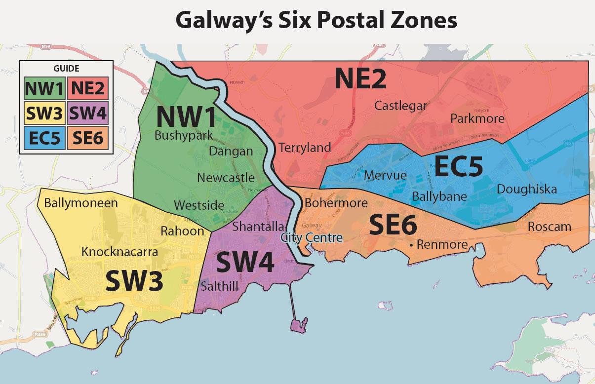 Galway 6 Post Codes
